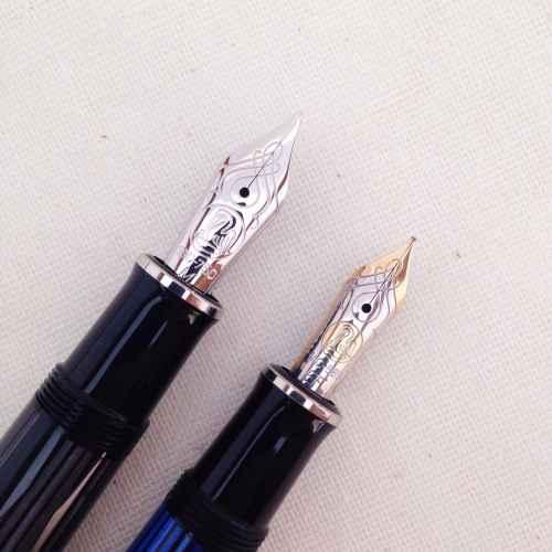 Pelikan M805 and M605 nibs